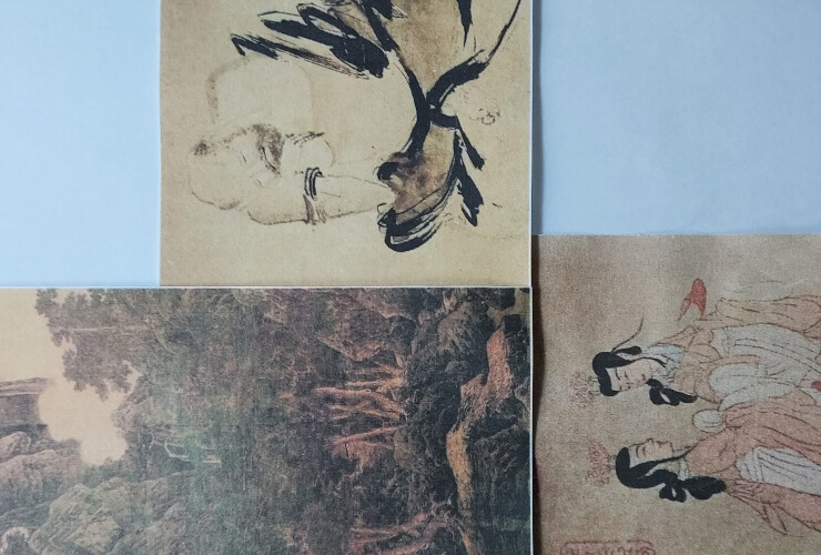 The dialogue between Chinese art and Philosophy