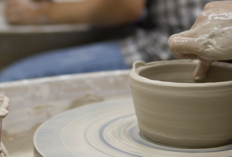 Friday Pottery-Throwing Workshop