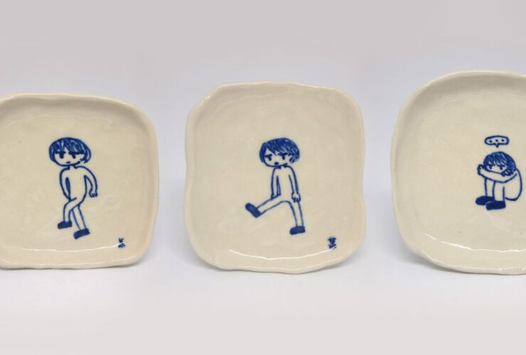 Handful of Ceramic Objects – Blue & White Workshop