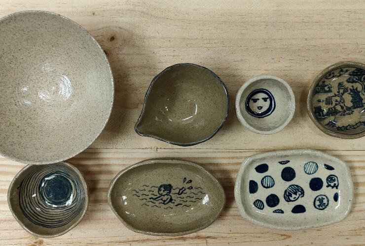 青花手感小物 – 陶藝工作坊